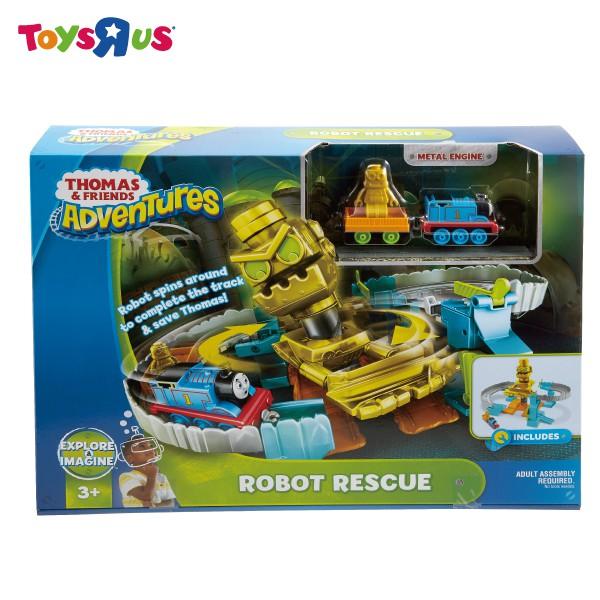 玩具反斗城 MATTEL 湯瑪士大冒險-拯救機器人遊戲組