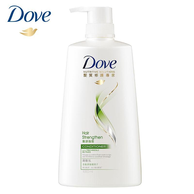 多芬 髮源強韌潤髮乳 660ml