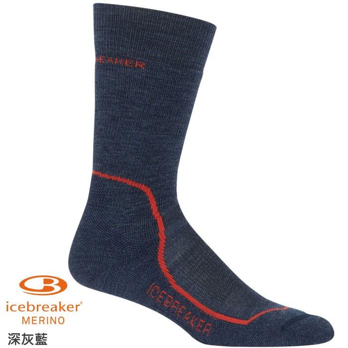 [多色] Icebreaker 破冰者 美麗諾羊毛襪 男款 中筒中毛圈健行襪 登山襪 HIKE IBND09 綠野山房