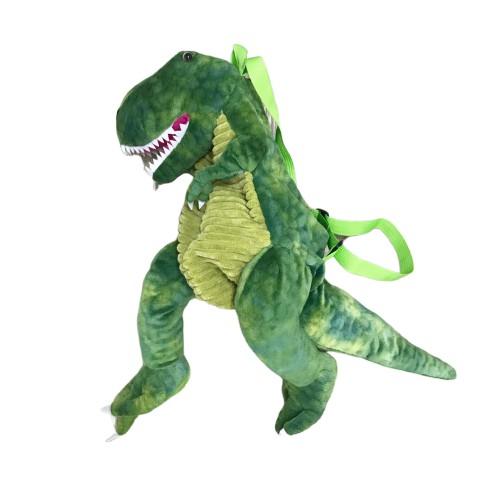 動物毛絨卡通恐龍後背包 雙肩包