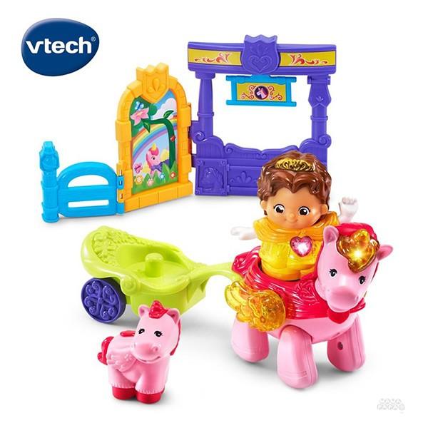 Vtech 夢幻城堡系列-公主與獨角獸組