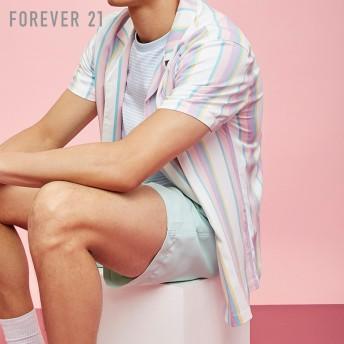 FOREVER21 フォーエバー21 【[MEN]マルチストライプシャツ】(5,000円以上購入で送料無料)