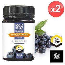 紐西蘭恩賜 藍莓麥蘆卡蜂蜜UMF5(375公克)2瓶
