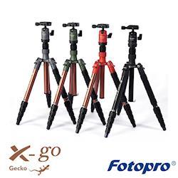 Fotopro 富圖寶 X-go Gecko 鋁合金 三腳架 (公司貨)