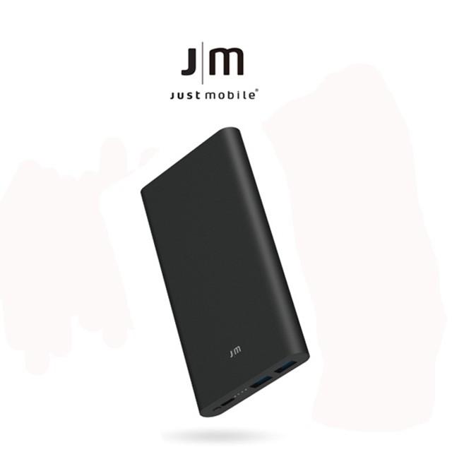 Just Mobile | Gum™ Slim 鋁質三埠快充10000mAh 行動電源