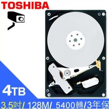 Toshiba AV影音監控 4TB 3.5吋 硬碟 DT02ABA400V