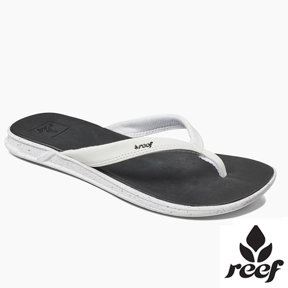 REEF SWELLULAR支撐舒適防滑 女款夾腳人字拖鞋 - 黑/白 [蝦皮優惠] S19 RF0A3FEQBLW
