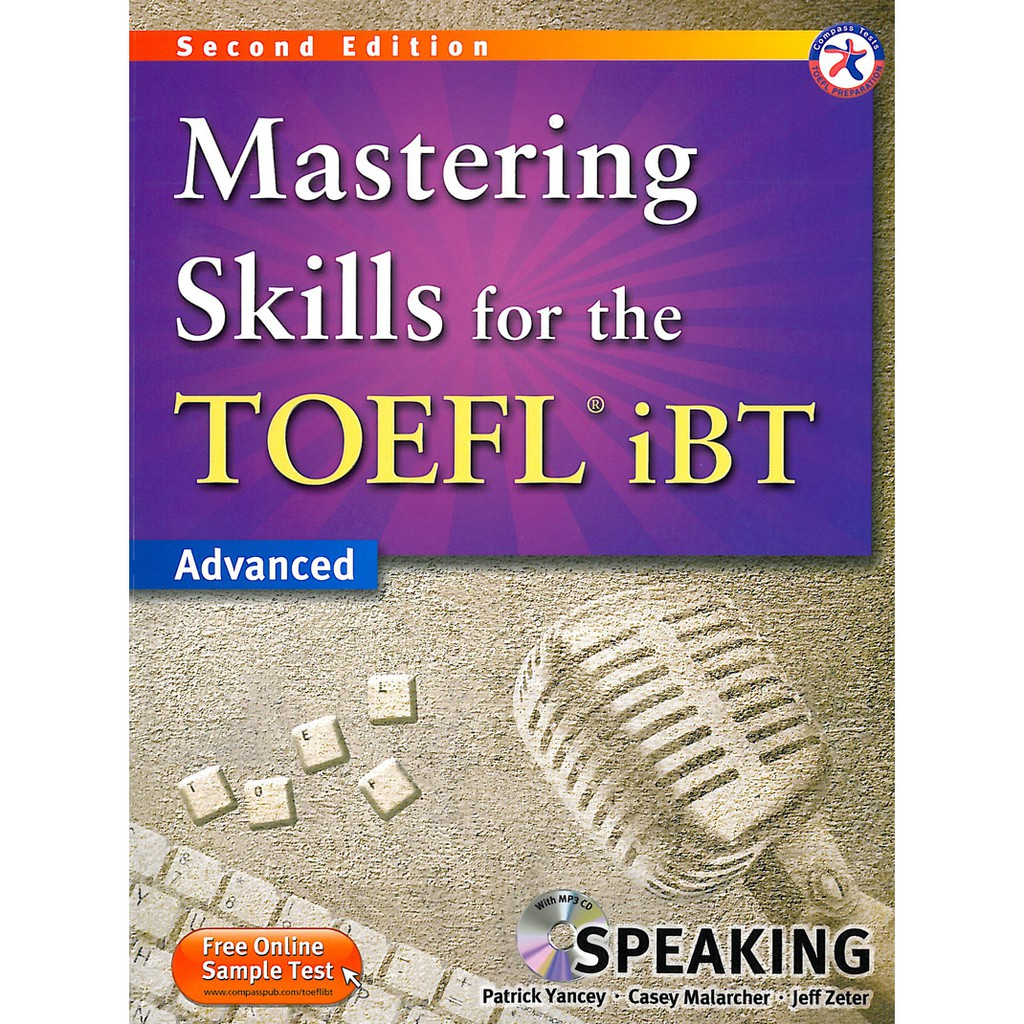 Mastering Skills for the TOEFL iBT 2/e (Speaking)(with MP3)