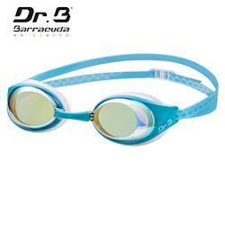 美國巴洛酷達Barracuda巴博士Dr.B#94690 AQUAREVOL 度數電鍍泳鏡