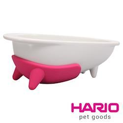 【HARIO】長嘴犬粉紅專用磁碗  PTSC-LPC