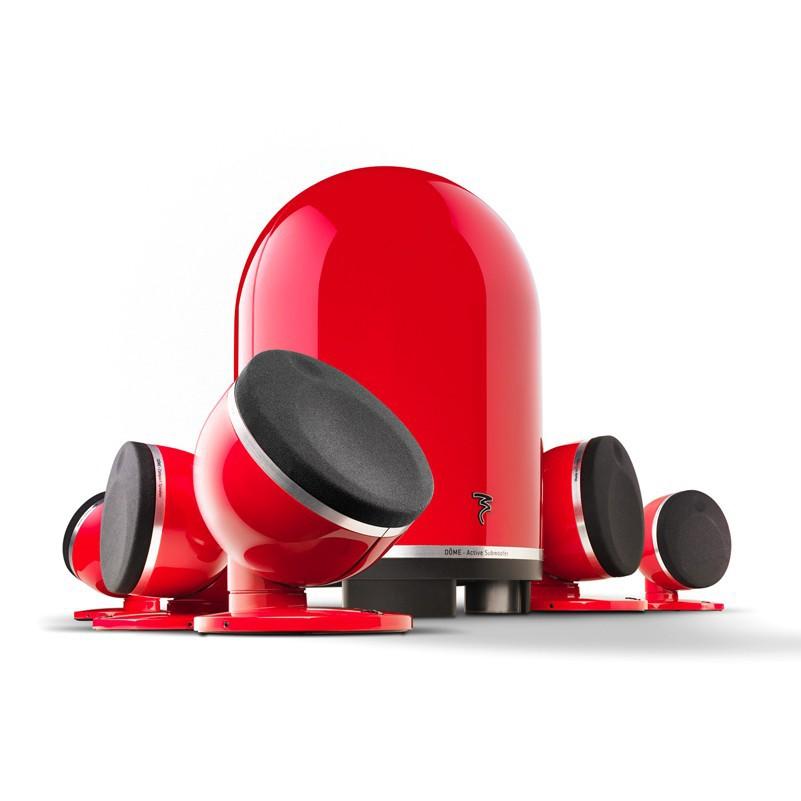 【金曲音響】FOCAL Dome 5.0 + Subwoofer 5.1聲道 時尚 鋼烤 多種組合 喇叭 音響