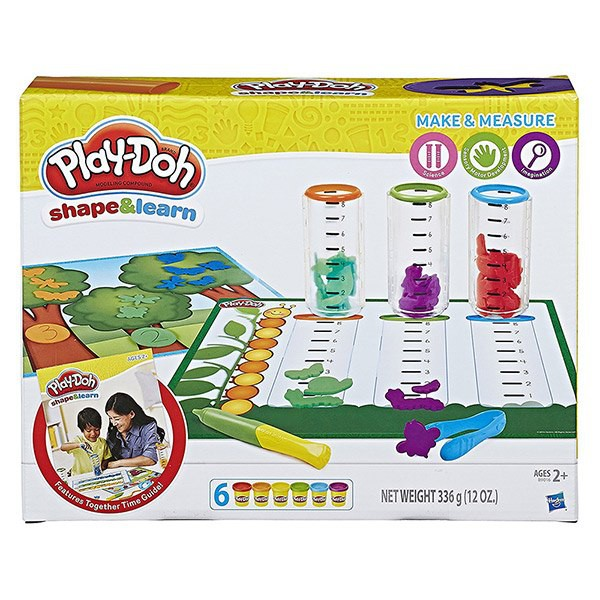 【培樂多Play-Doh】創意DIY黏土 測量比較遊戲組 B9016