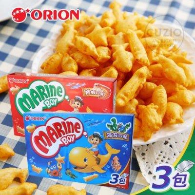 韓國 ORION好麗友 好多魚餅乾 (3入) 90g