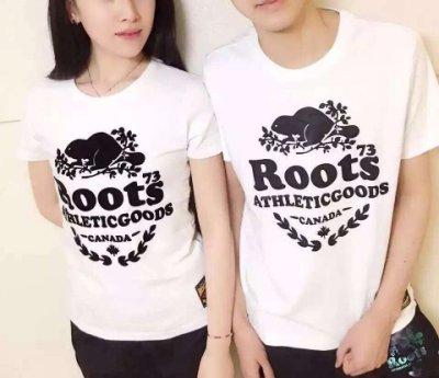 全新正品Roots 春夏新款 男生女生海狸桂冠圓領短袖T-shirt 現貨