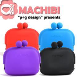 p+g design MACHIBI 立體亮彩矽膠珠扣零錢包/收納包-多色可選