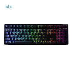 ikbc 時光機 F108 RGB/PBT/英刻 (茶軸/紅軸) 電競機械鍵盤