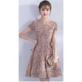 パーティードレス 結婚式 二次会 ワンピース 結婚式 お呼ばれ ドレス 20代 30代 40代 ワンピースドレス 大きいサイズ パーティードレス