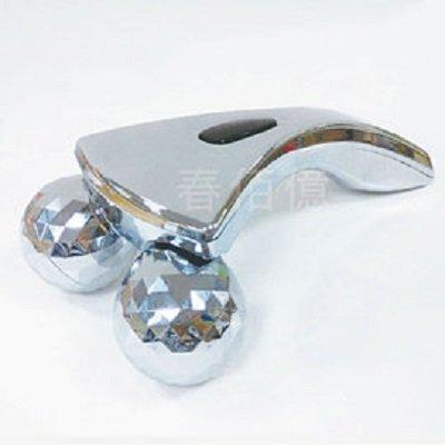 鉑麗星 3D美體滾輪按摩儀(1入) 滾輪按摩器 身體按摩推輪 頸部按摩推棒 緊緻按摩 揉捏按摩 360度擬人手捏感推拿拉