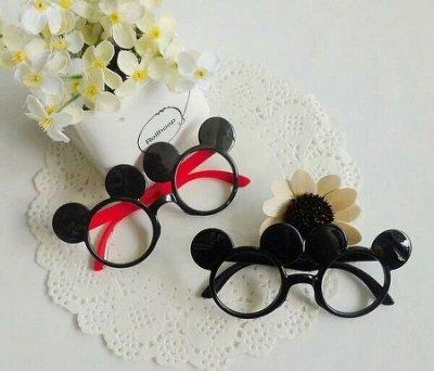 兒童可愛造型眼鏡框架 無鏡片 男童女童米奇眼鏡框 寶寶卡通眼鏡