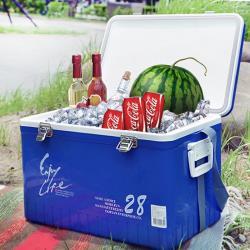 傳統標準型休閒冰箱-25.5L(買就送冰磚保冷劑2個)