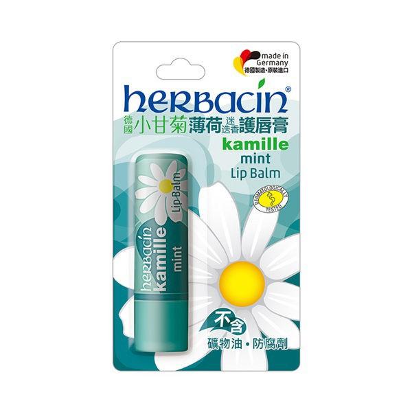 Herbacin 德國小甘菊 薄荷迷迭香護唇膏4.8g