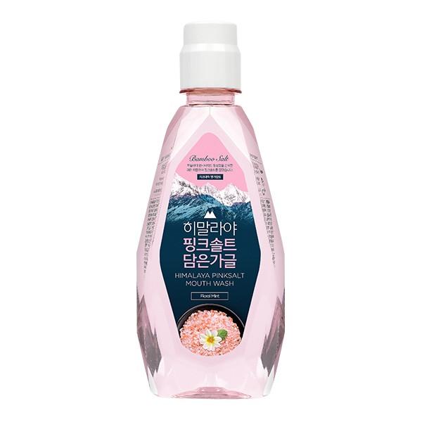 LG喜馬拉雅粉晶鹽漱口水-花香薄荷320ml 【康是美】