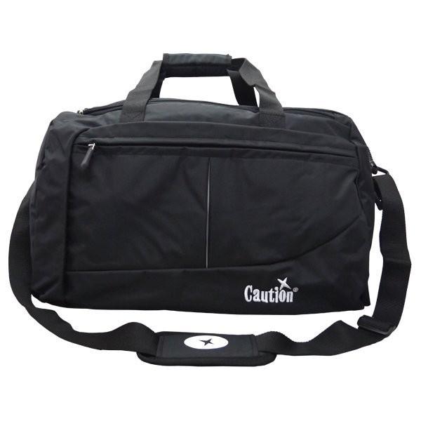 加賀皮件 CAUTION 台灣製造 防潑水 可手提 肩背 斜背 旅行袋/行李袋 TB-8511