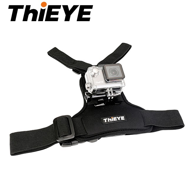 ThiEYE i30 胸前固定帶 Chest Harness 降落傘 跳高 攀岩 泛舟 相機專家 [公司貨]