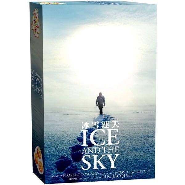 冰雪連天 Ice and the Sky 繁體中文版 高雄龐奇桌遊