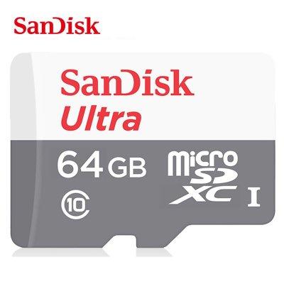 【公司貨】新版100MB Sandisk 64G Ultra MicroSDXC MicroSD 64GB C10記憶卡