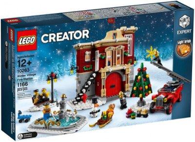【CubeToy】樂高 10263 創意大師 冬季系列 消防局 - LEGO CREATOR -