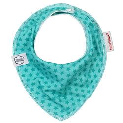 ImseVimse-有機棉領巾型圍兜(湖綠星星)-行動