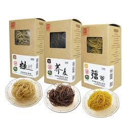 源順 養生有機米糆條(薑黃糙米糆條+糙米糆條+蕎麥糆條各2盒(3入/盒),共18粒入)