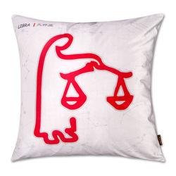 【協貿】時尚簡約休閒可愛創意十二星座之天秤座抱枕含芯