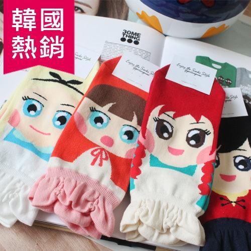 韓國 熱賣 童話故事 愛麗絲 紅髮安妮 小紅帽 蕾絲裙 裙子 特別款 短襪 襪子 36A
