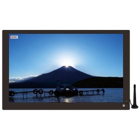 OVER TIME 15.4インチ 2WAYポータブル液晶テレビ 車載 録画機能付き HDMI入力端子 OT-PT154AK フルセグテレビ カーテレビ