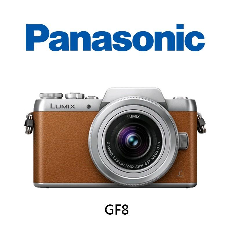 【酷BEE】12/31前送好禮 Panasonic GF8/K +12-32mm 手動鏡 公司貨 台中 免運 自拍