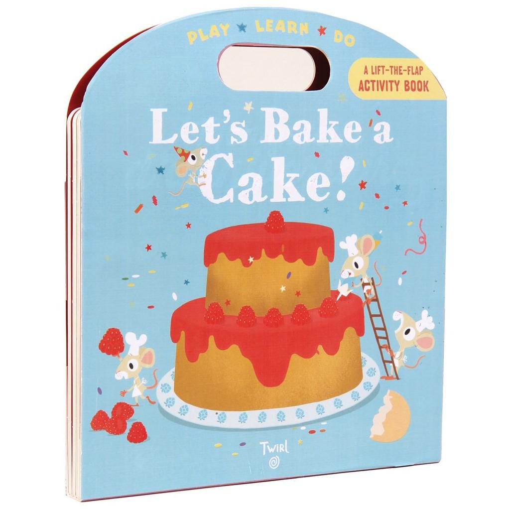 【麥克書店】LET'S BAKE A CAKE|我的烹飪書遊戲操作書