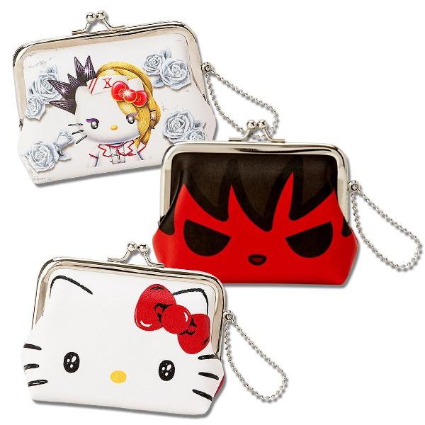 Hello Kitty百變造型零錢包/收納包/手拿包/今日最便宜/貨到付款/現貨供應/禮物