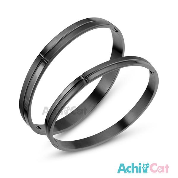 achicat 情侶手環 白鋼對手環 浪漫情懷 *單個價格* b066