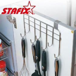 【韓國原裝進口STAFIX】全不銹鋼櫥櫃門板掛架