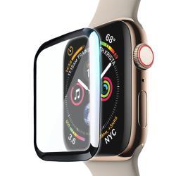 CITY for Apple Watch Series 3/2/1 42mm 滿版全膠曲面疏水玻璃貼