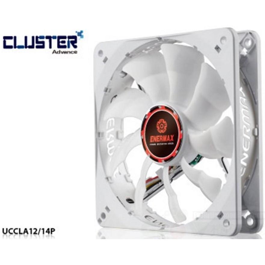 保銳 Enermax CLUSTER ADVANCE 白蝠進階版 12公分 風扇