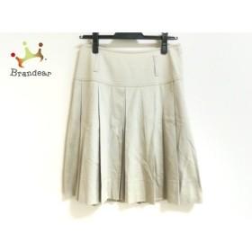 バーバリーロンドン Burberry LONDON スカート サイズ38 L レディース 美品 ベージュ プリーツ   スペシャル特価 20190917