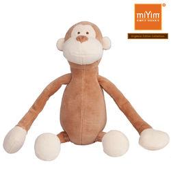 美國miYim有機棉瑜珈娃娃-布布小猴