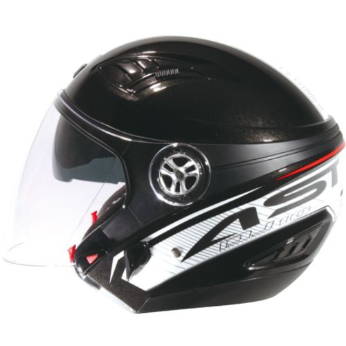 ASTONE DJ10C 黑OO12白 內墨鏡片 可拆洗內襯 可安裝下巴 半罩 安全帽《比帽王》