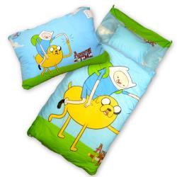 【Sunnybaby生活館】- 卡通造型幼教兒童睡袋(老皮與阿寶)