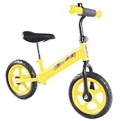 JS 12吋兒童平衡滑步車(黃閃電)
