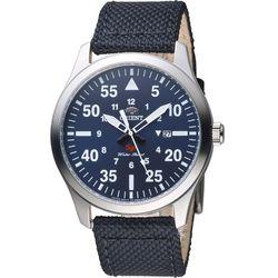 ORIENT 東方錶 SP 飛行運動石英錶-藍x黑 42mm FUNG2005D