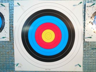 射箭專用靶紙 (80cm)適合各式獵弓.反曲弓.練習弓.童弓....,*弓箭用品*